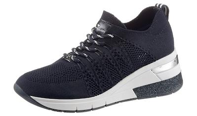 TOM TAILOR Keilsneaker, mit Metalli-Applikation im Absazt kaufen
