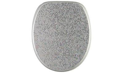 Sanilo WC-Sitz »Crystal Silver« kaufen