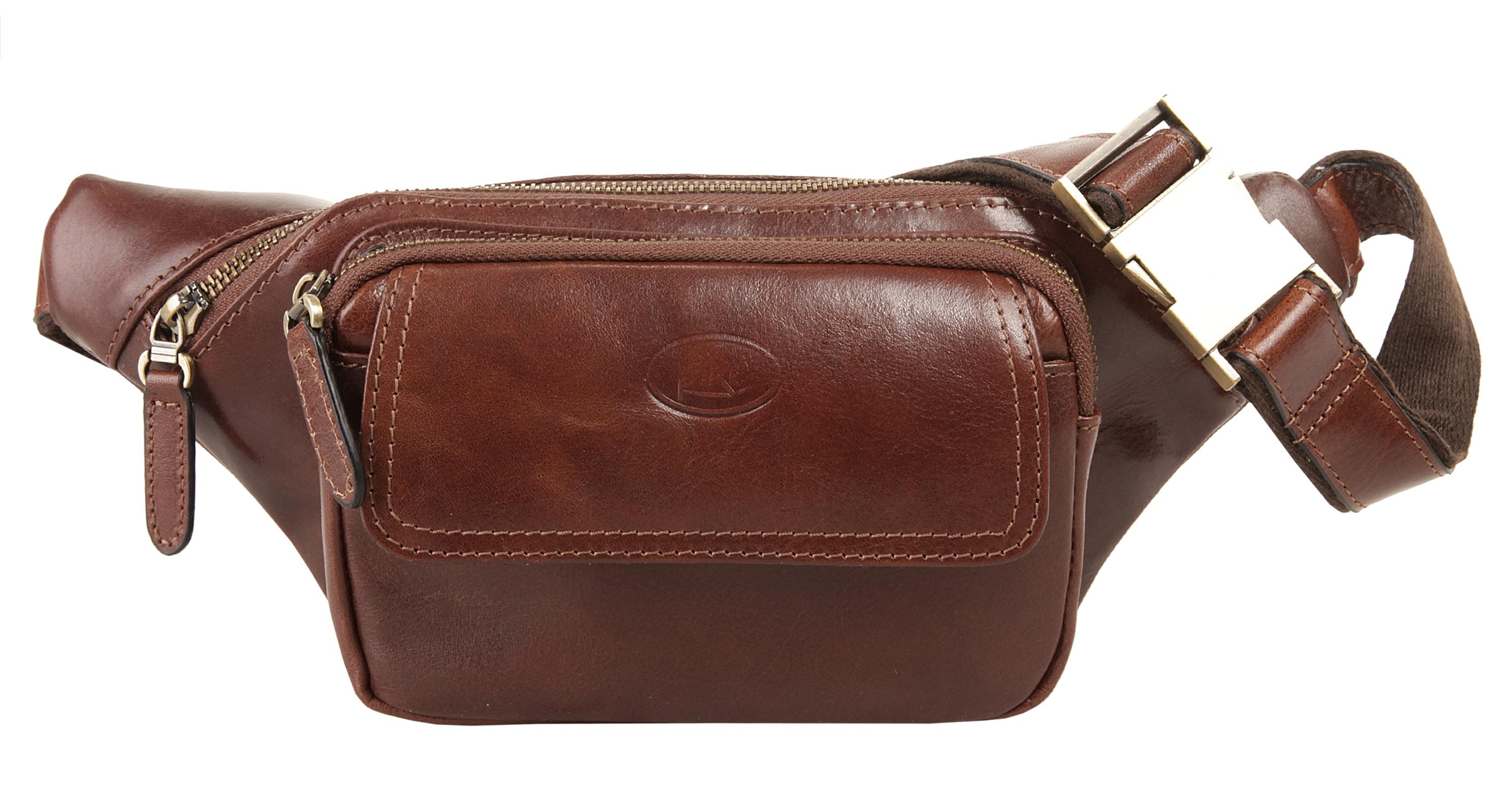 Piké Gürteltasche braun Damen Handtaschen Taschen