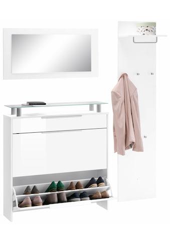 borchardt Möbel Garderoben - Set »Oliva« (Set, 3 - tlg) kaufen