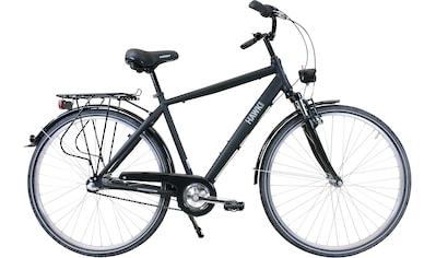 HAWK Bikes Trekkingrad »HAWK Citytrek Gent Premium Black«, 3 Gang, Shimano, Nexus Schaltwerk kaufen
