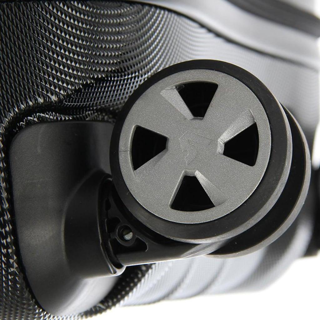 RONCATO Hartschalen-Trolley »Double Premium, 55 cm«, 4 Rollen, inkl. herausnehmbarer Vordertasche; Made in Europe