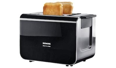 SIEMENS Toaster »Sensor for Senses TT86103«, 2 kurze Schlitze, für 2 Scheiben, 860 W,... kaufen
