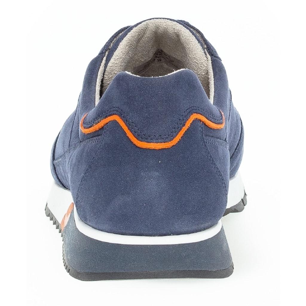 Pius Gabor Sneaker, im modischen Materialmix
