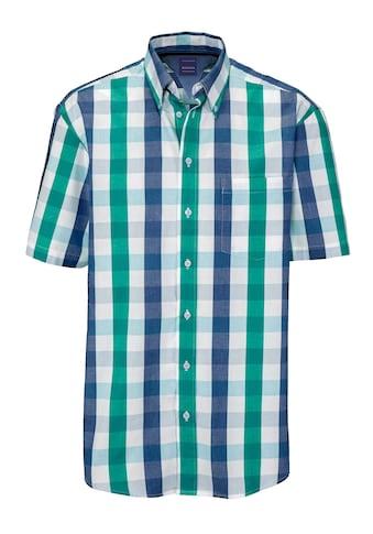 Babista Kurzarmhemd, in harmonischen Aquafarben kaufen