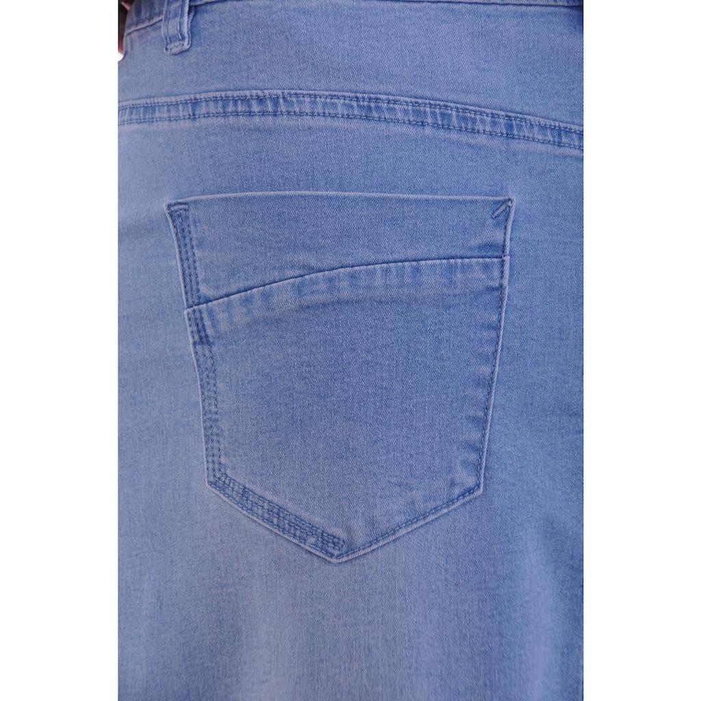 NAVIGAZIONE Jeansrock, aus soften Stretchmaterial