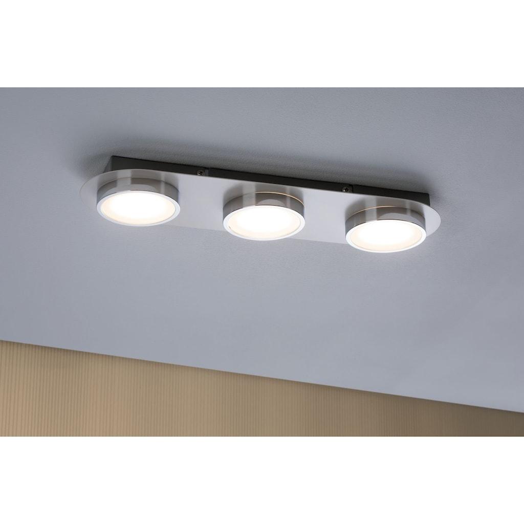 Paulmann LED Deckenleuchte »Liao 14,1W Weiß matt/Chrom«, 1 St., Warmweiß