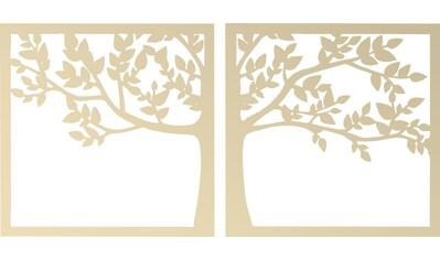 Wall-Art Wanddekoobjekt »Pappel - Prachtvoller Baum« kaufen