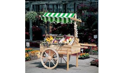 promadino Transportkarren »Marktwagen«, B/T/H: 173/82/187 cm kaufen