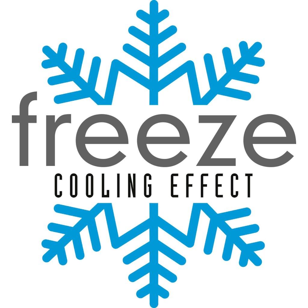 DI QUATTRO Visko-Kissen »Freeze«, (1 St.), Kissen mit einzigartig kühlendem Effekt – Ideal für die heißen Sommermonate – Dank Freeze Technologie