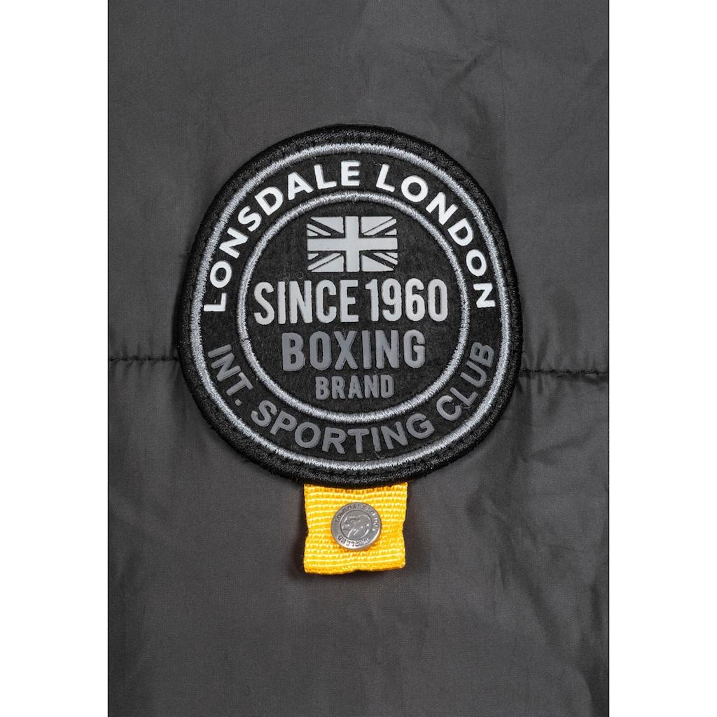 Lonsdale Steppjacke »BOTALLACK«