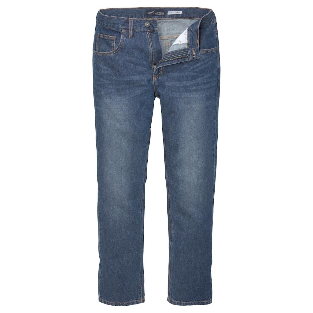 Arizona Slim-fit-Jeans »Clint«, mit dezenter Waschung