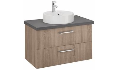 OPTIFIT Waschtisch »Doha«, mit Soft-Close-Funktion, Aufsatzbecken rund, Breite 85 cm kaufen