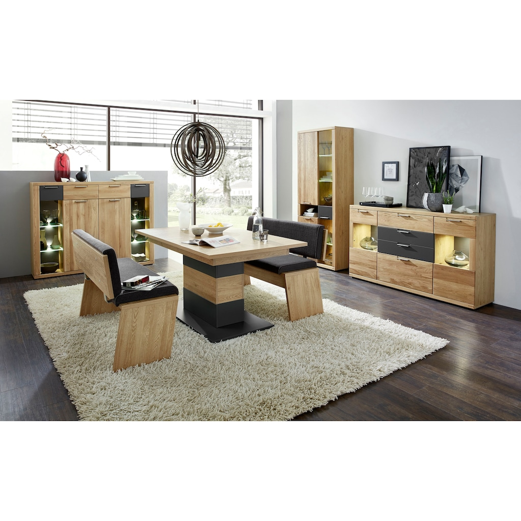 Innostyle Highboard »Bianco«, mit Soft-Close-Funktion, inkl. Beleuchtung