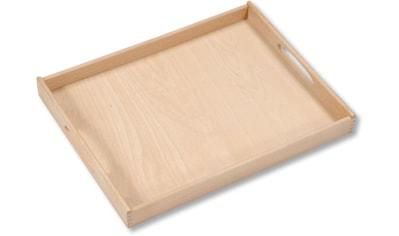 KESPER for kitchen & home Tablett, Maße: 50 x 39 x 4,5 cm kaufen