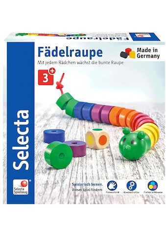 Selecta Spiel »Fädelraupe«, aus Holz, Made in Germany kaufen