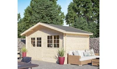 Kiehn - Holz Set: Gartenhaus »Gipsberg 1«, BxT: 437x331 cm, inkl. Blumenkasten und Fußboden kaufen