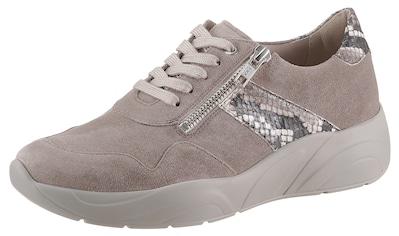 SOLIDUS Sneaker »Hills«, mit modischem Besatz in Snake-Optik kaufen