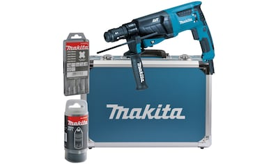 Makita Kombihammer »HR2631FT13«, (Set), für SDS-PLUS 26 mm im Alukoffer kaufen