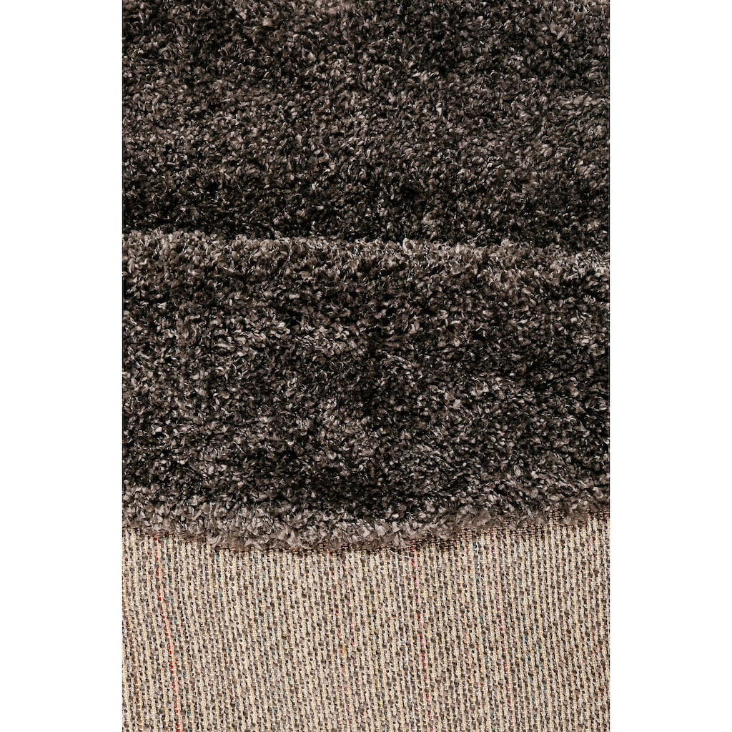 Esprit Hochflor-Teppich »Live Nature«, rund, 55 mm Höhe, weiche Haptik, Wohnzimmer