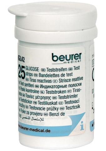 BEURER Blutzucker-Teststreifen »GL 42/ GL 43«, zur Verwendung mit dem Beurer... kaufen
