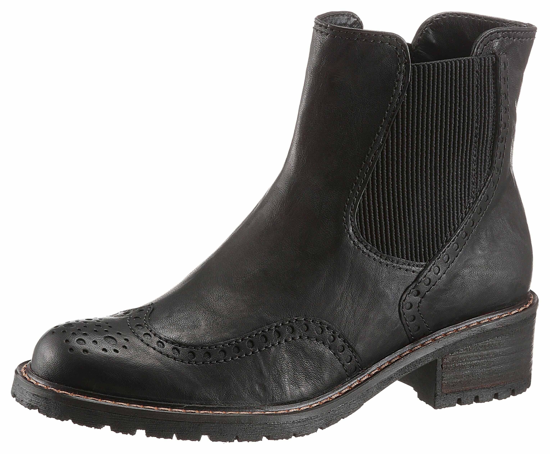 Gabor Chelseaboots | Schuhe > Boots > Chelsea-Boots | Schwarz | Leder | Gabor
