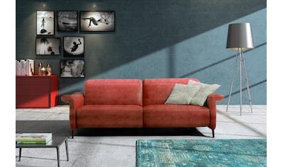 Egoitaliano 2,5-Sitzer »YVETTE«, KOPFSTÜTZEN MANUELL VERSTELLBAR, Metallfüße kaufen