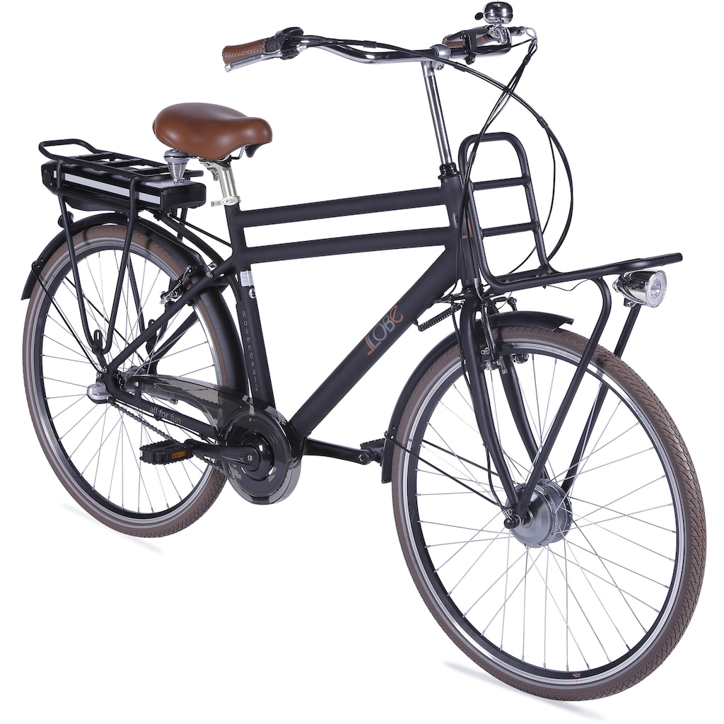 LLobe E-Bike »Rosendaal Gent 130865«, Gepäckträger vorne