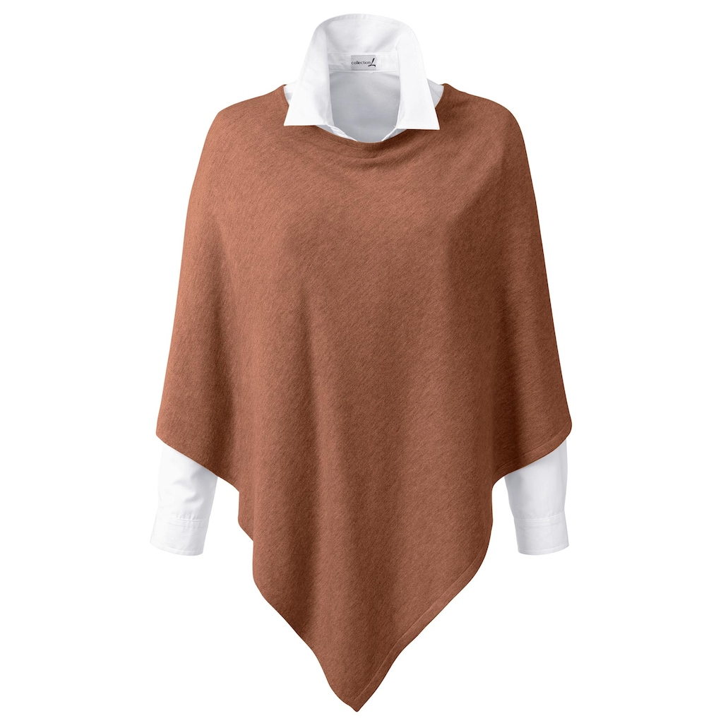 Casual Looks Poncho