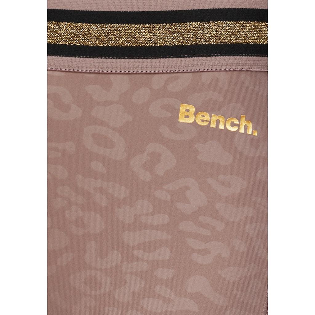 Bench. Caprileggings, mit Mesh-Einsatz