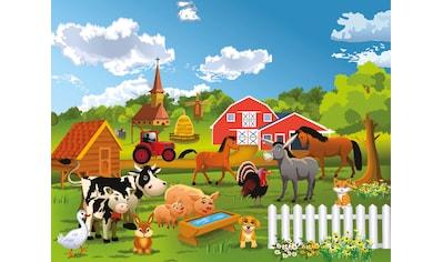 Papermoon Fototapete »Farm, Bauernhof« kaufen