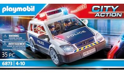 Playmobil® Konstruktions-Spielset »Polizei-Einsatzwagen (6873), City Action«, Made in Germany kaufen