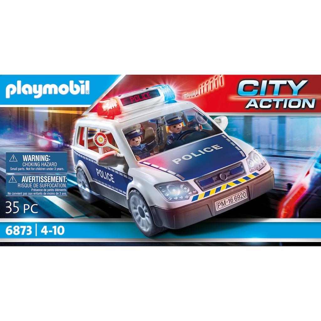 Playmobil® Konstruktions-Spielset »Polizei-Einsatzwagen (6873), City Action«, Made in Germany