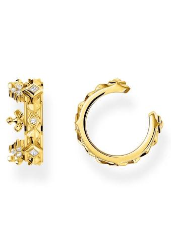 THOMAS SABO Ohrklemme »Ear Cuff, Krone Gold, EC0016-414-14«, mit Zirkonia kaufen