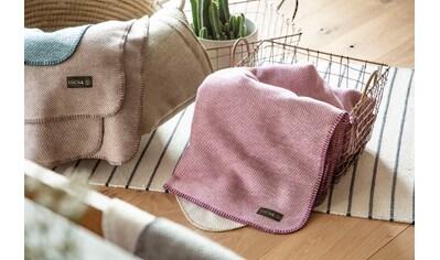 Wolldecke »Jacquard Decke Auckland«, IBENA kaufen