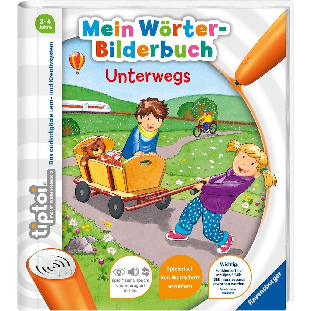 Ravensburger Buch »tiptoi® Mein Wörter-Bilderbuch: Unterwegs«, Made in Europe
