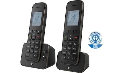 Telekom DECT-Telefon »Sinus A 207 Duo«, (Mobilteile: 2) kaufen