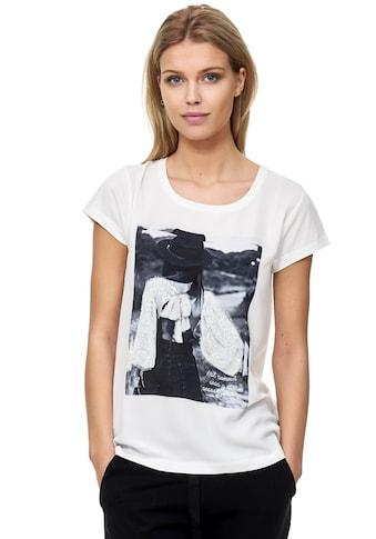 Decay T-Shirt, mit paillettenbesetztem Vintage-Print kaufen