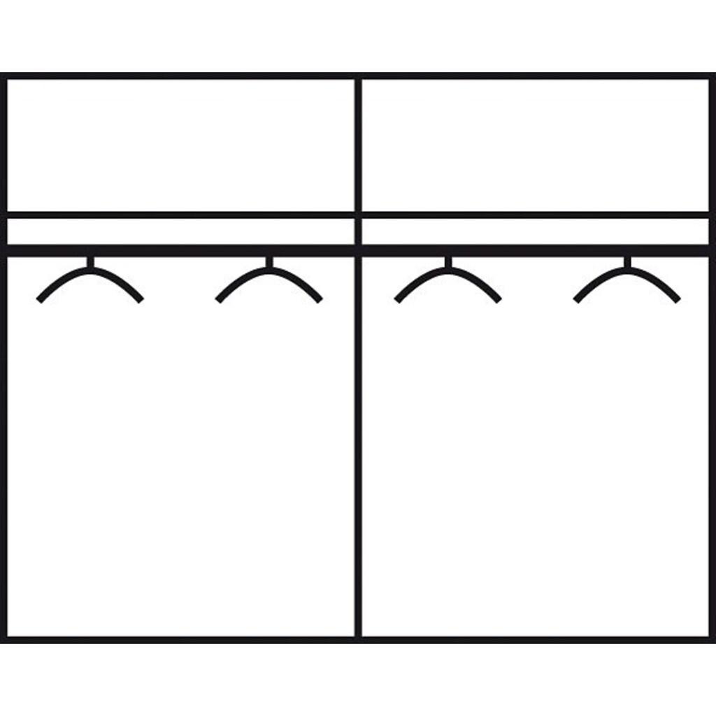 rauch ORANGE Schwebetürenschrank »Quadra«, mit Möglichkeit zur individuellen Frontgestaltung