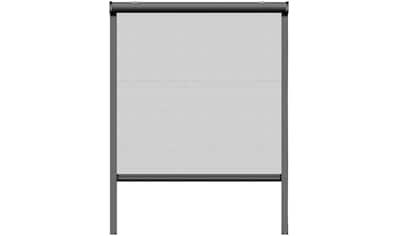SCHELLENBERG Set: Insektenschutz - Rollo BxH: 130x160 cm, Rahmen anthrazit kaufen
