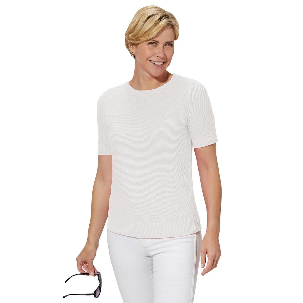 Casual Looks Kurzarmpullover »Pullover«