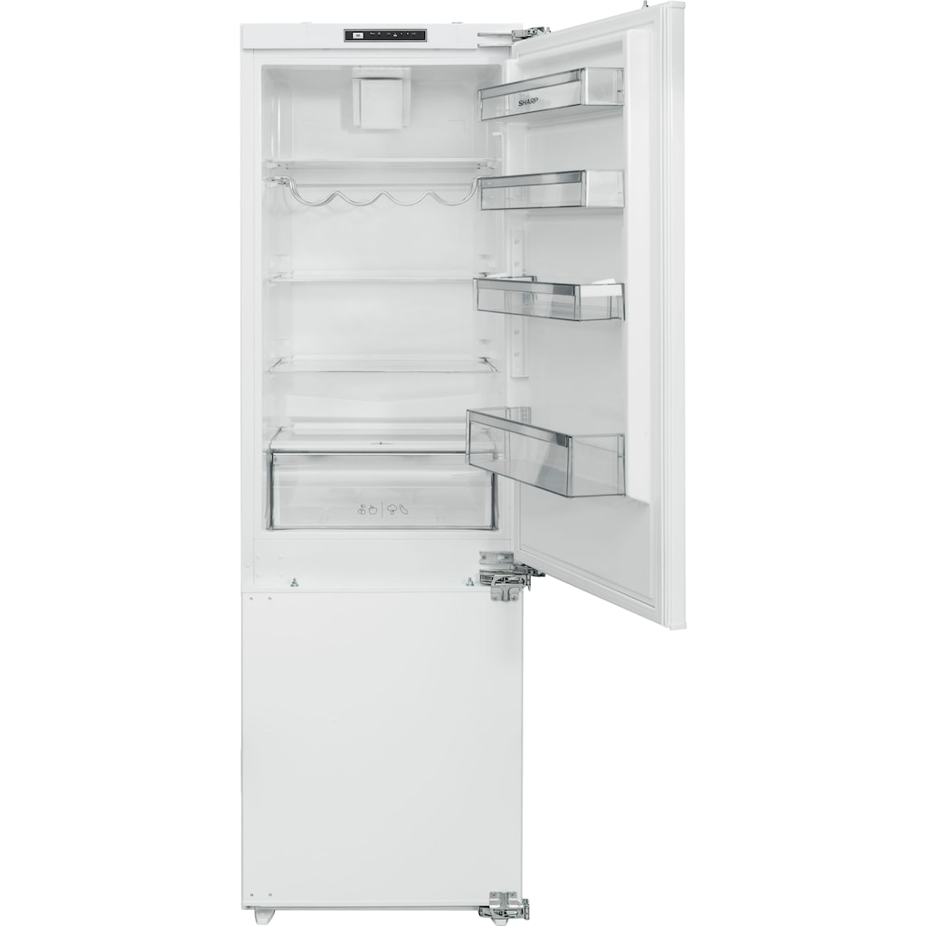 Sharp Einbaukühlgefrierkombination »SJ-B2237E00X-EU«