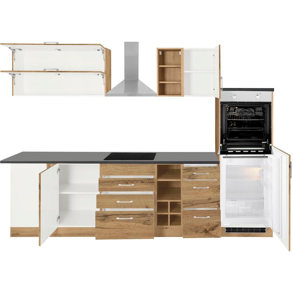 HELD MÖBEL Winkelküche »Colmar«, ohne E-Geräte, Stellbreite 210/300 cm