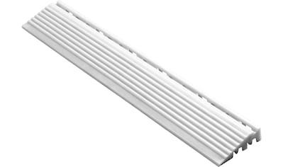 FLORCO Kantenleisten Seitenteil weiß, 40 cm, 4 Stück kaufen
