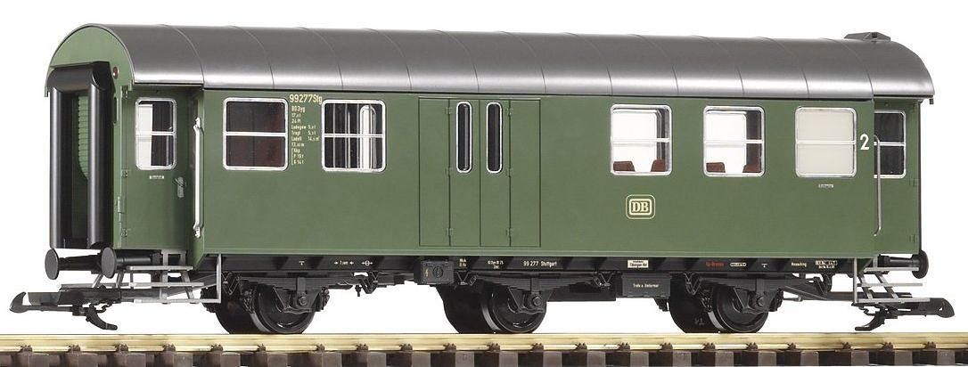 PIKO Personenwagen Umbauwagen BD3yg, 2.Klasse mit Gepäckabteil, DB, Spur G