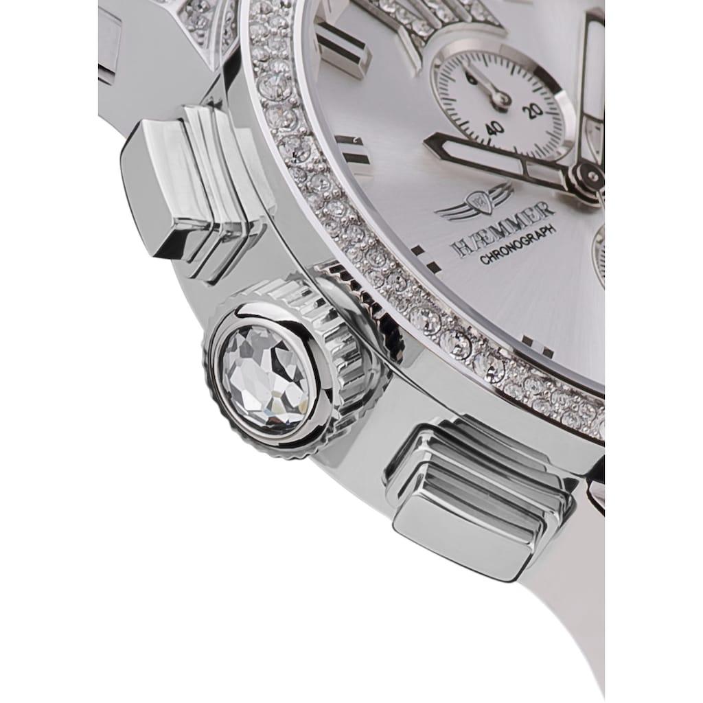 HAEMMER GERMANY Chronograph »WHITE DREAM, E-001-W«