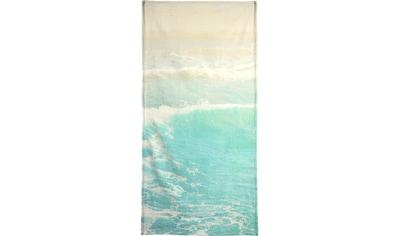 Juniqe Strandtuch »Surge«, (1 St.), Weiche Frottee-Veloursqualität kaufen