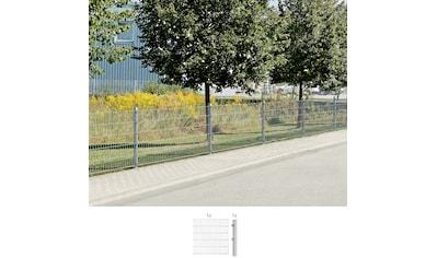 GAH Alberts Doppelstabmattenzaun, Anbauset 160 cm hoch, 1 Matte 2 m, 1 Pfosten kaufen