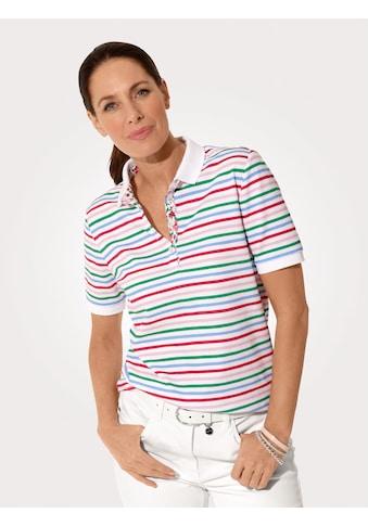 Mona Poloshirt, in trageangenehmer Piqué-Qualität kaufen