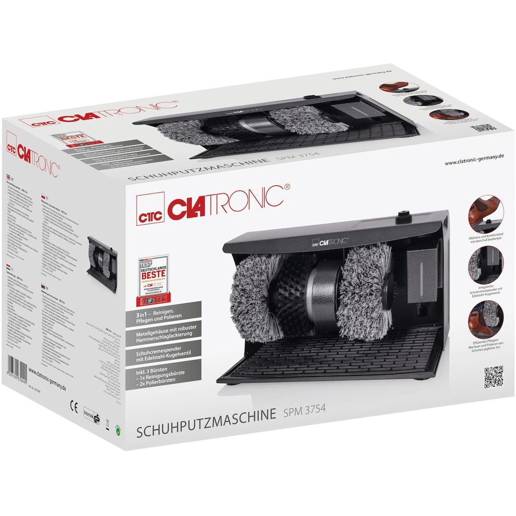 CLATRONIC Schuhputzmaschine »SPM 3754«